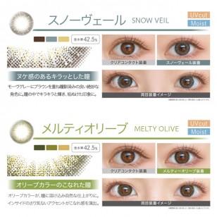 EverColor 1 DAY UV 10片 (8選色)