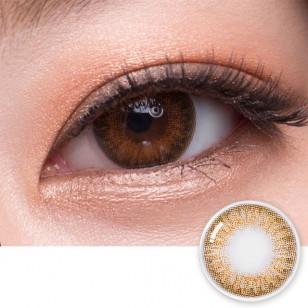 OLENS SECRISS 1DAY(NATURAL BROWN) 20片